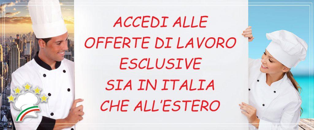 Offerte di lavoro a Lecce per cuochi e pasticceri