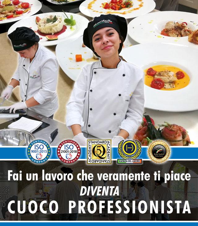 Scuola di Cucina a Lecce: Corso di Cuoco Professionista.