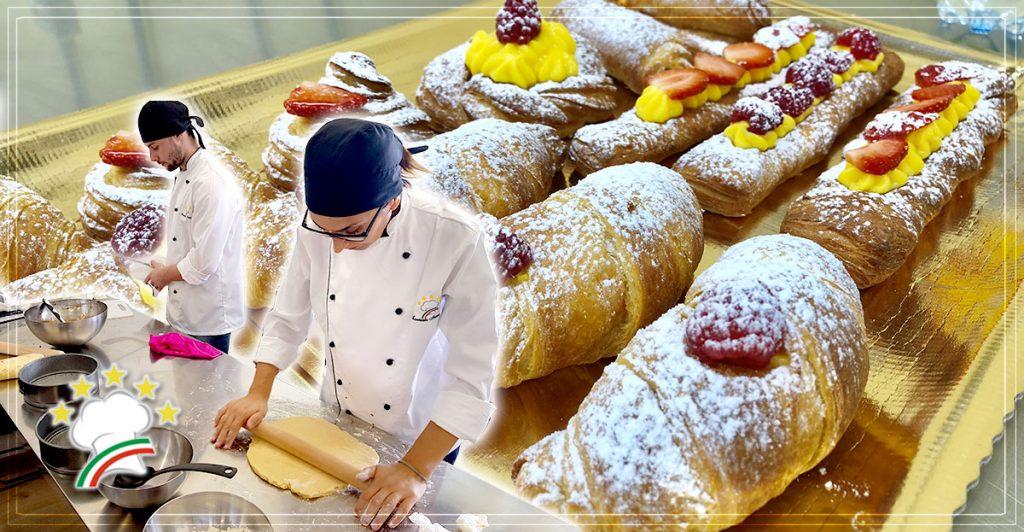 Corso di Pasticceria Italiana a Lecce: le paste da colazione