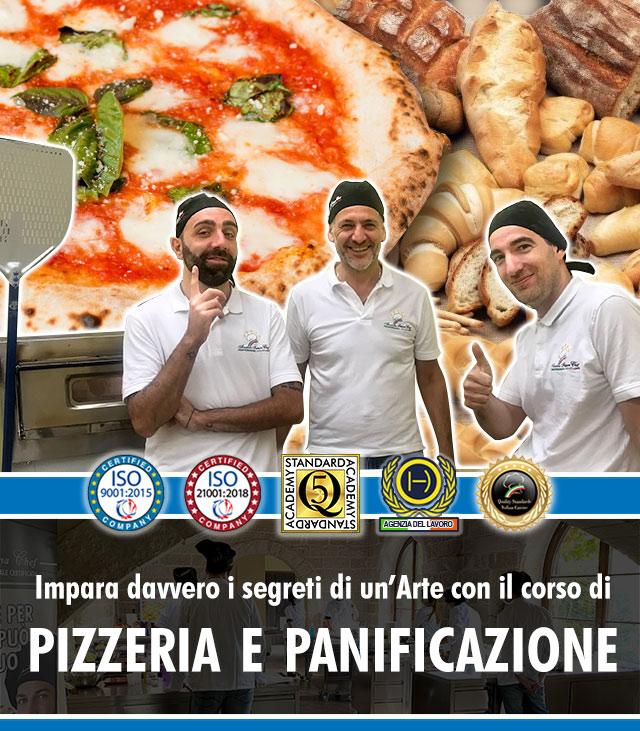 Corso di Pizzeria e Panificazione a Lecce Mobile