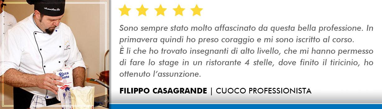 Corso Cuoco a Lecce Opinioni - Casagrande