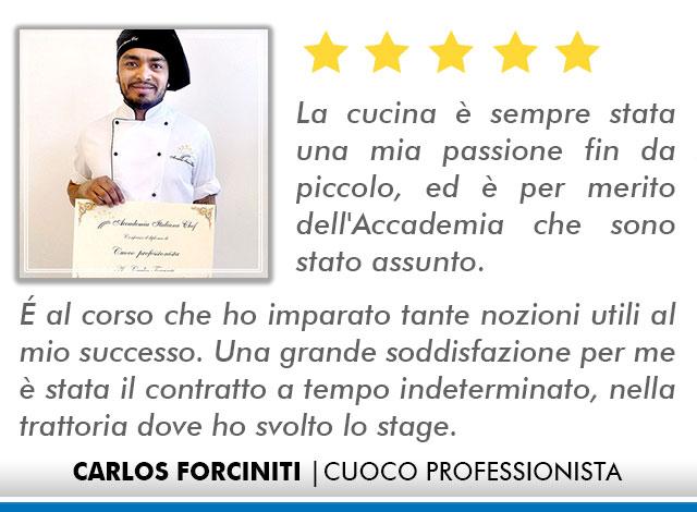 Corso Cuoco a Lecce Opinioni - Carlos