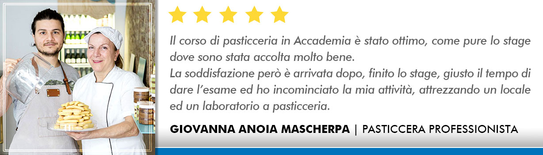 Corso Pasticcere a Lecce Opinioni - Anoia-Mascherpa