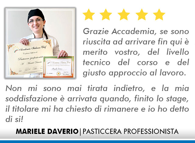 Corso Pasticcere a Lecce Opinioni - Daverio