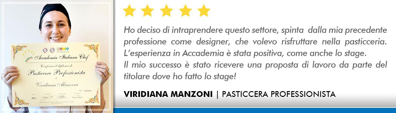 Corso Pasticcere a Lecce Opinioni - Manzoni