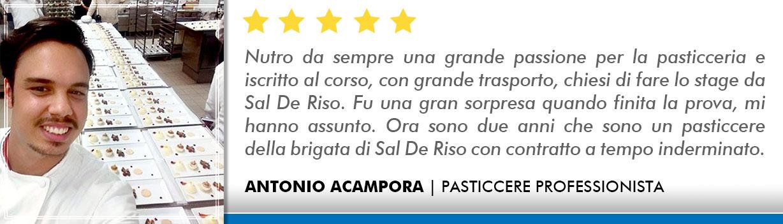 Corso Pasticcere a Lecce Opinioni - Acampora