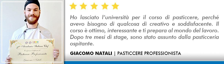 Corso Pasticcere a Lecce Opinioni - Natali