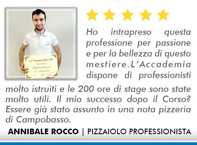 Corso Pizzaiolo a Lecce Opinioni - Annibale