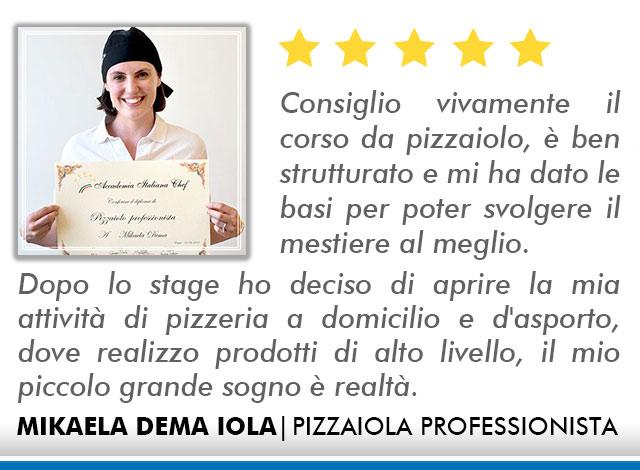 Corso Pizzaiolo a Lecce Opinioni - Dema