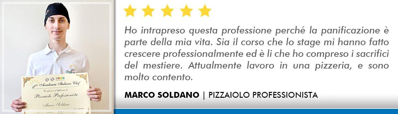Opinioni Corso Pizzaiolo Lecce - Soldano