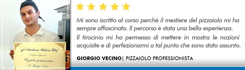 Opinioni Corso Pizzaiolo Lecce - Vecino