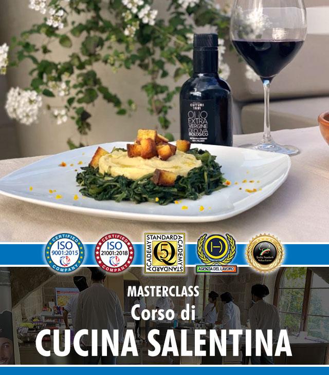 Master cucina salentina - corsi specializzati