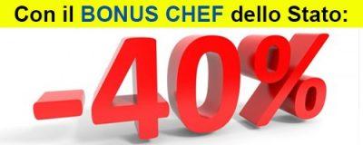 bonus chef -40%